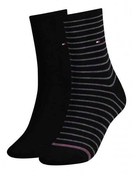 Tommy Hilfiger Damensocken Small Stripes