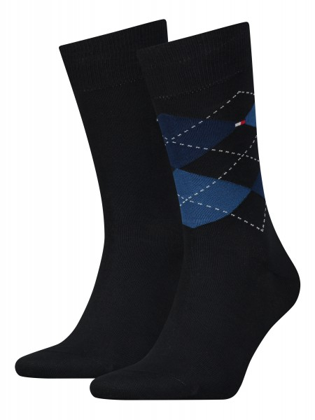Tommy Hilfiger Herrensocken Check Sock