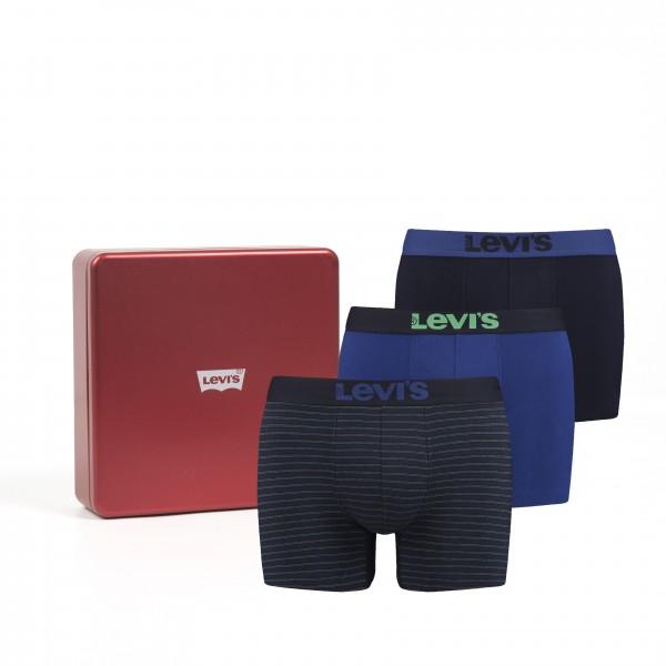 Levis Herren Boxershort 3er Pack in Geschenkbox