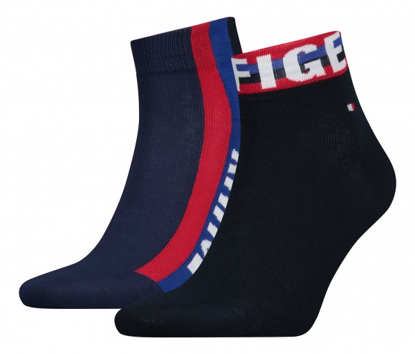 Tommy Hilfiger Herrensocken Quartersocken
