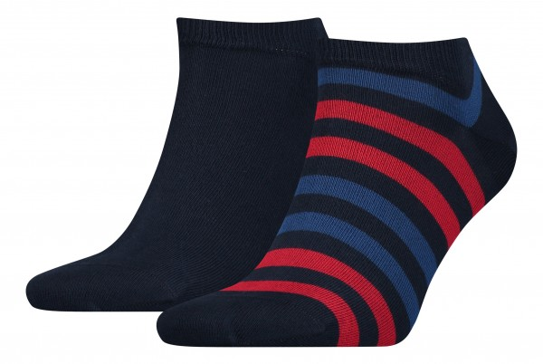Tommy Hilfiger Herrensocken Duo Stripe Sneaker
