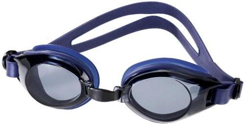 Schwimmbrille Deluxe mit Antibeschlag- und 100%-UV-Schutz + Tasche