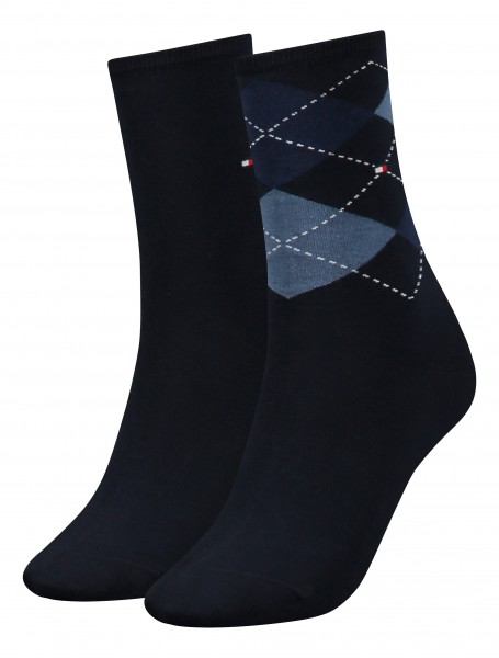 Tommy Hilfiger Damensocken Check